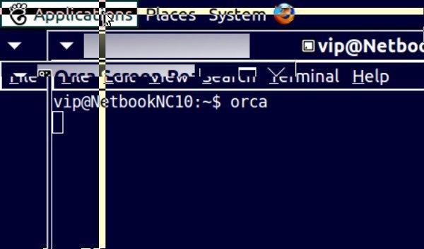 Ubuntu Orca screenshot
