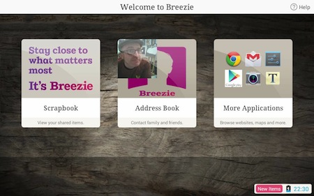 Breezie start page - Welcome to Breezie