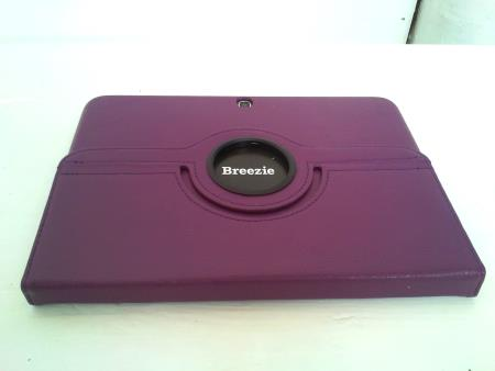 Folded Breezie tablet on a table