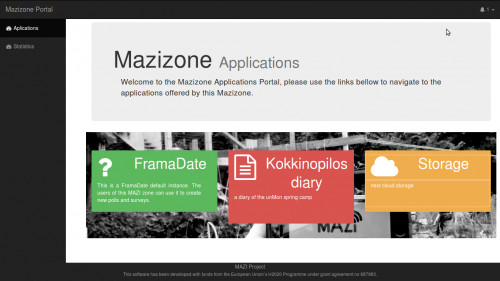 picture of the adapted mazizone applications